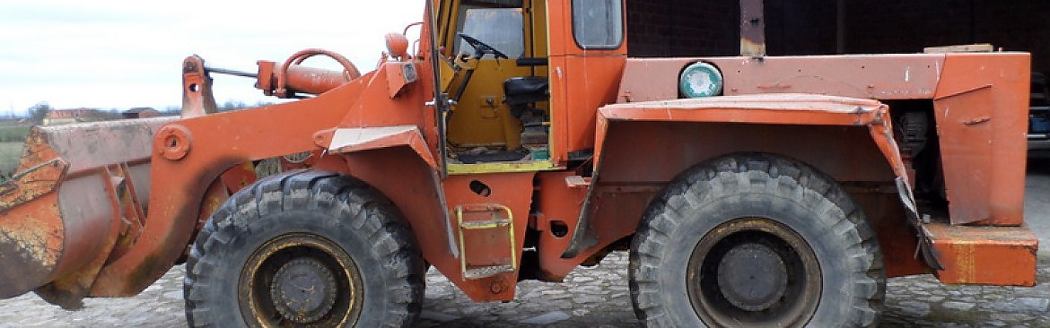 CHARGEUSE HANOMAG B 14